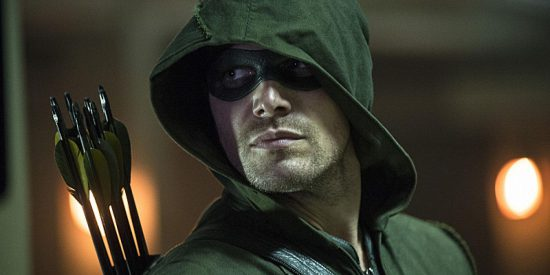 Stephen Amell stars on Arrow