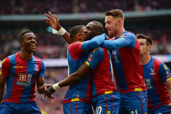 CPFC goal celebration 2 - credit Crystal Palace FC