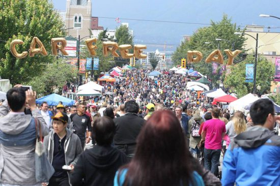 Car free day vancouver 2016