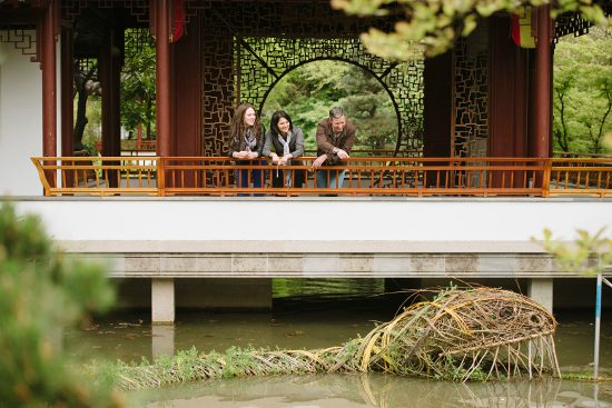 Group at Dr Sun Yat-Sen Memorial Gardens
