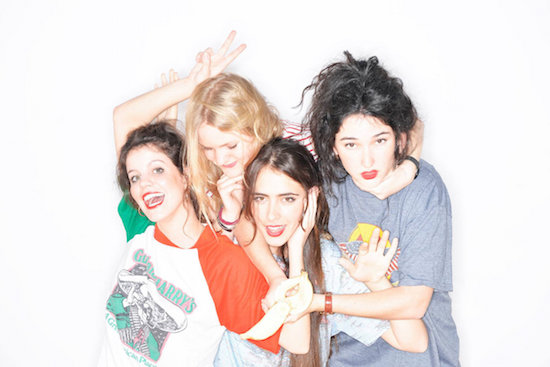 Rock out with Madrid, Spain's HINDS this weekend at Levitation Vancouver.