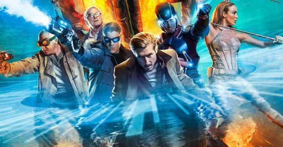 DC's Legends of Tomorrow is only one of several superhero TV series shooting in Vancouver.
