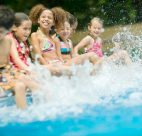 Splashing Kids