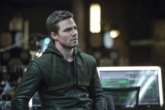Stephen Amell reprises his lead role on Arrow