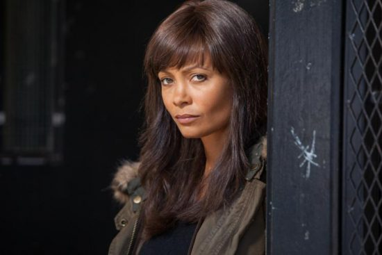 Thandie Newton stars in the TV series Rogue.