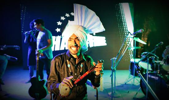 Vijay Kumar Yamla performs at Bhangra on Main.