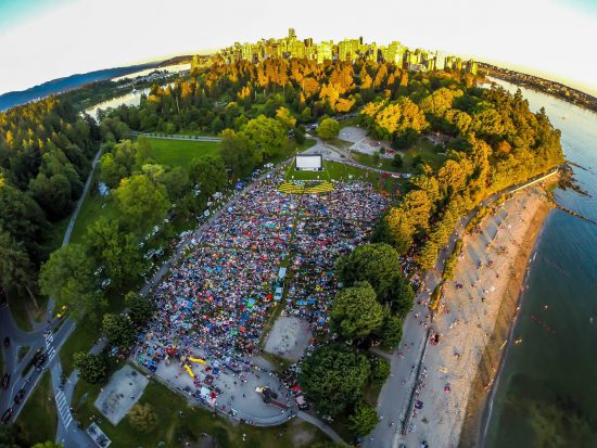 vancouver outdoor movies 2017