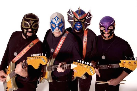 Nashville's Los Straitjackets perform at this year's Vancouver International Jazz Festival.