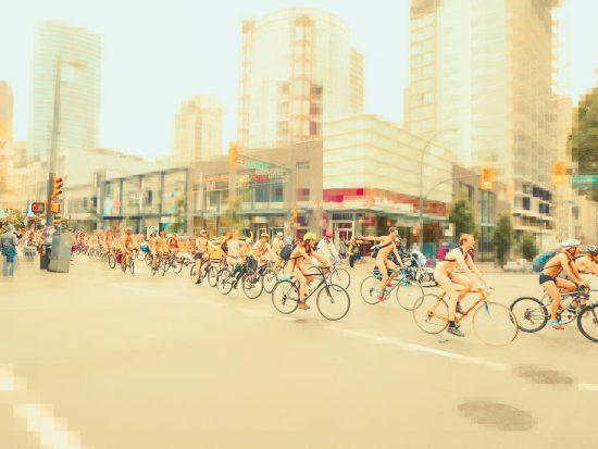 vancouver naked bike ride 2017