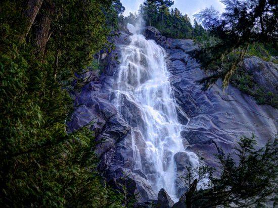 shannon falls vancouver squamish