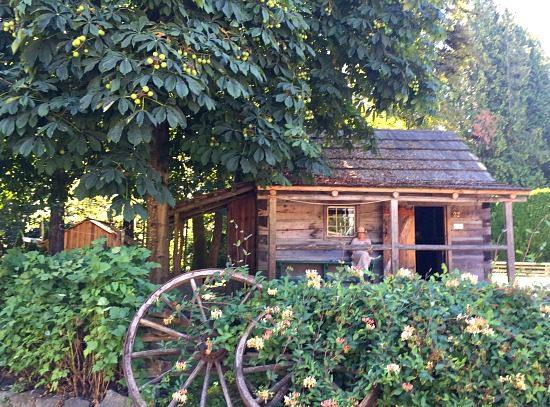 Burnaby Village Cabin