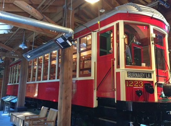 Burnaby Village Tram