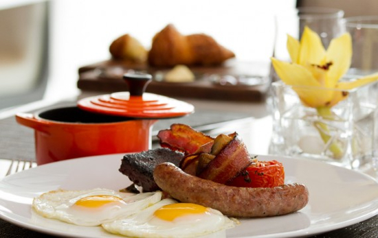 Traditional English breakfast; Sourced from Hawksworth website