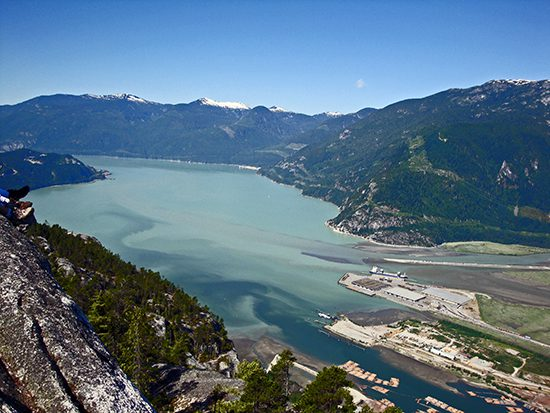 Discover the Outdoors Squamish Chief2