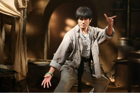 Philip Ng (here in Once Upon a Time in Shanghai) stars as Bruce Lee in The Birth of the Dragon.
