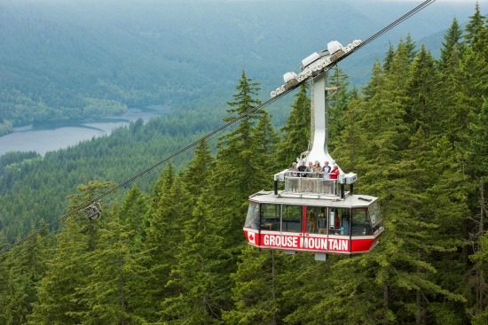 Skyride Surf Adventure | Photo: Grouse Mountain