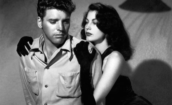 Burt Lancaster and Ava Gardner in The Killers.
