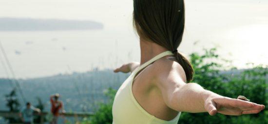Peak Yoga on Grouse Mountain