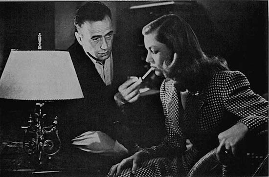 Bogart and Bacall in The Big Sleep.