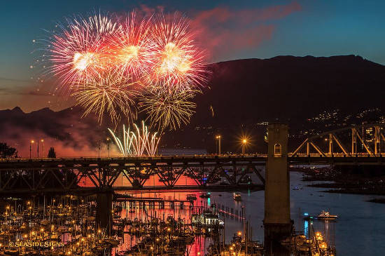 2015 Honda Celebration of Light | Photo: SeaSide Signs ~ Vancouver, BC