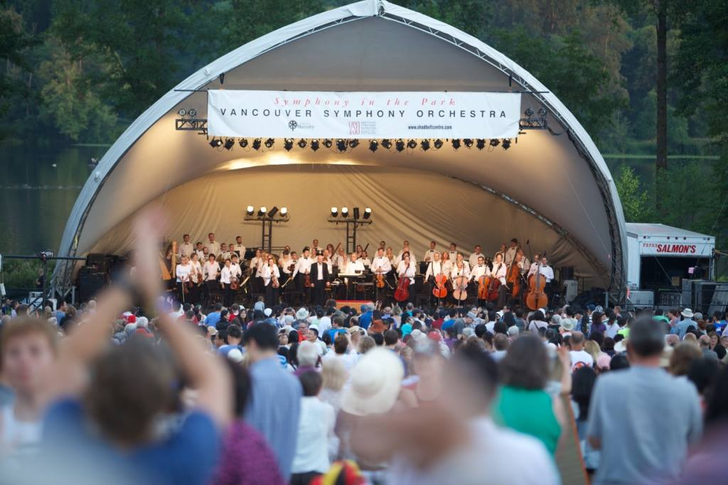 Vancouver Symphony Orchestra in the Park