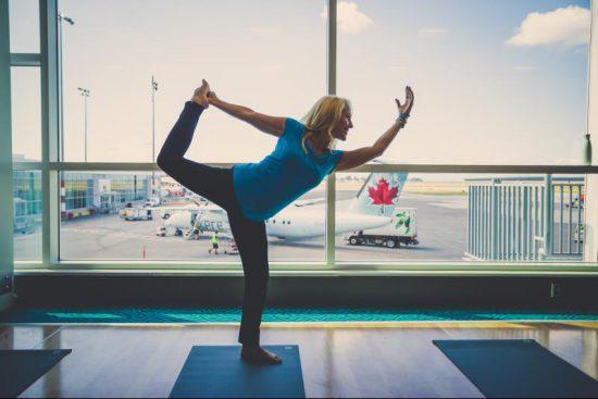 yoga at yvr airport