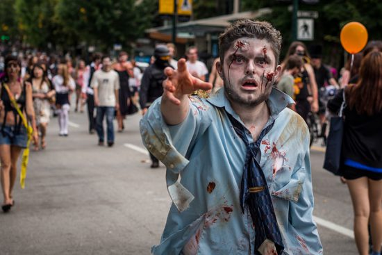vancouver zombiewalk 2016