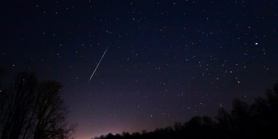 Vancouver meteor shower 2016