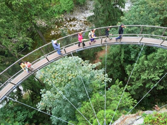 Cliffwalk, Capilano Suspension Bridge Park | Photo: Bianca Bujan