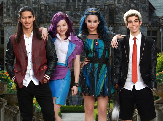 The Descendants follows the misadventures of the children of Disney villains.