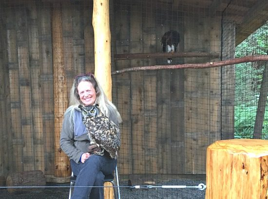 Raptor's Ridge Birds Of Prey Exhibit | Photo: Bianca Bujan