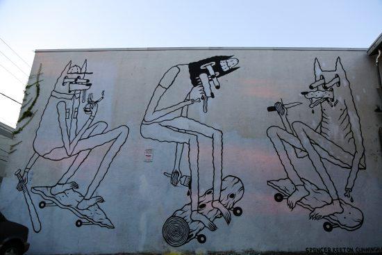 Mural by Spencer Keeton Cunningham