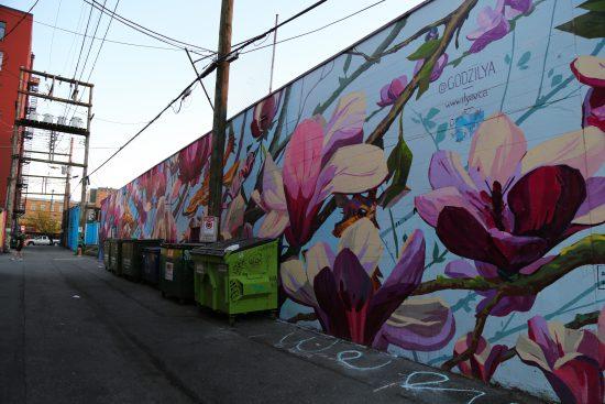 Mural by