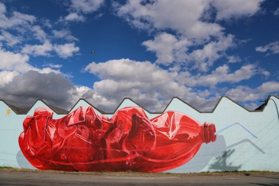 Mural by Christian Rebecchi and Pablo Togni, @NEVERCREW