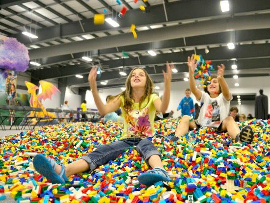 LEGO Brick Pit   Photo: LEGO