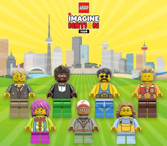 LEGO Characters   Photo: LEGO