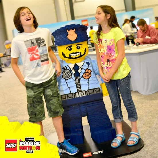 LEGO Life-Sized Model | Photo: LEGO