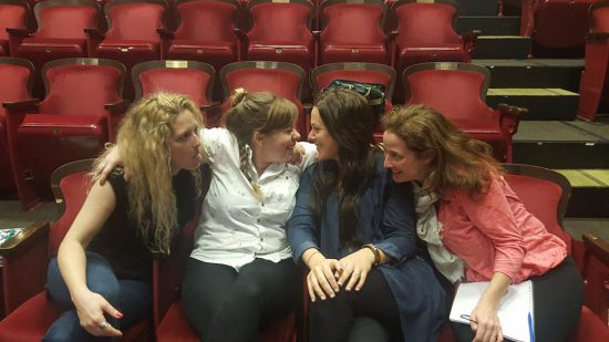 Emelia, Jody-Kay, Juno, and Sonja   Photo: The Cultch