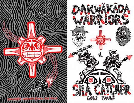 Cole Pauls VABF Indigenous Comics Artist Talk