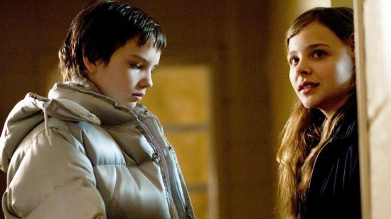 Kodi Smit-McPhee and Chloë Grace Moretz starred in Let Me In