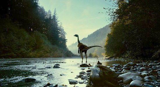 A Dinosaur Roams The Earth | Photo: Notey.com