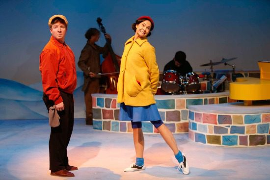 The company of A Charlie Brown Christmas   Photo by Tim Matheson