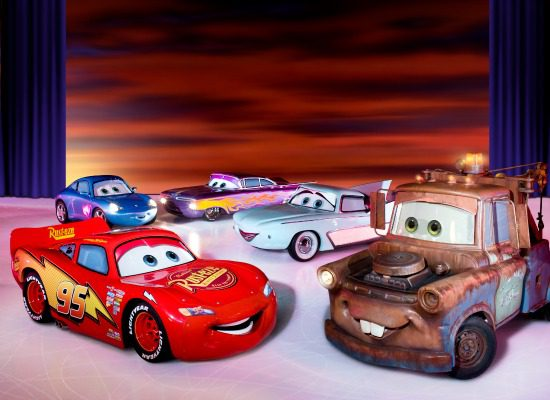 The characters from Cars | Photo: Disney on Ice