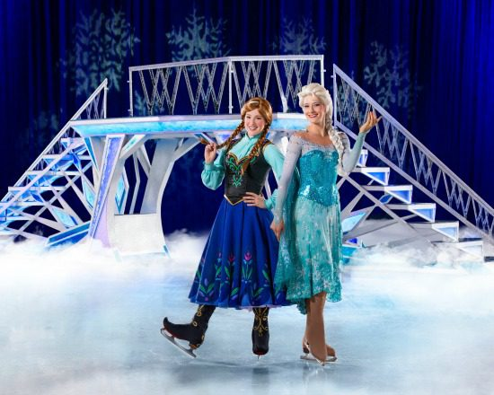 Elsa and Anna | Photo: Disney on Ice