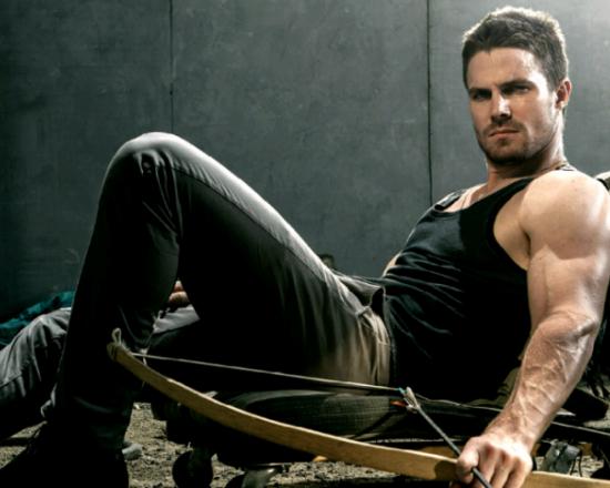 Stephen Amell stars in Arrow.