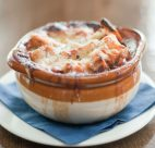 French onion soup from Tableau Bar Bistro; Sourced from Tableau Facebook page