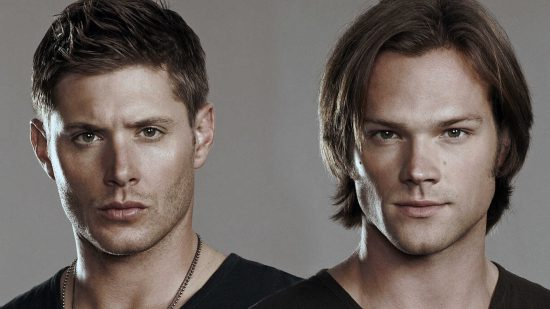 Jensen Ackles and Jared Padalecki star on Supernatural.