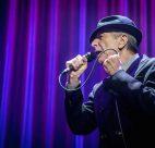 Leonard Cohen at Rogers Arena, Vancouver, Nov 12 2012.