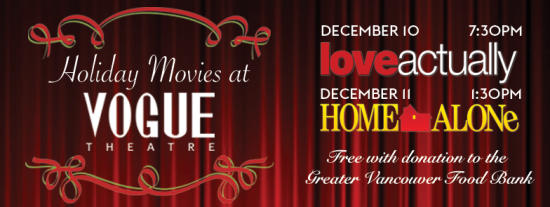 vogue theatre christmas movies