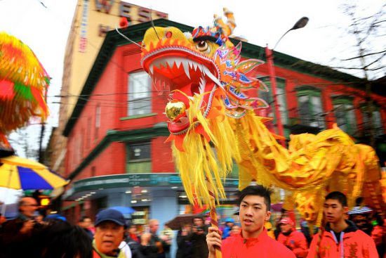 chinese new year parade 2017